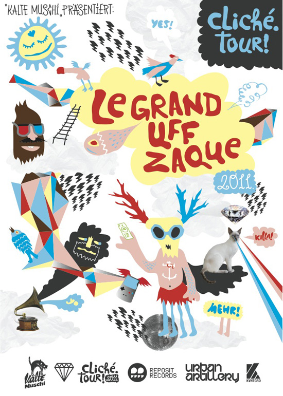 Le Grand Uff Zaque Tour 2011