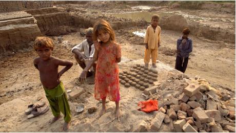 Sklavenarbeit in Pakistan