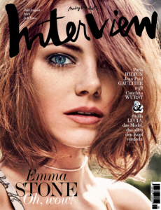 INTERVIEW Emma Stone